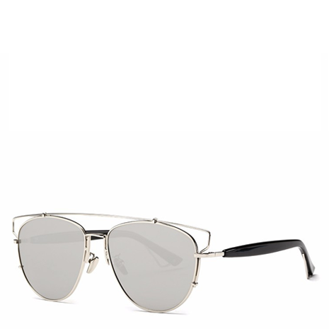 Alessa Aviator Sunglasses - Silver - Her Teen Dream