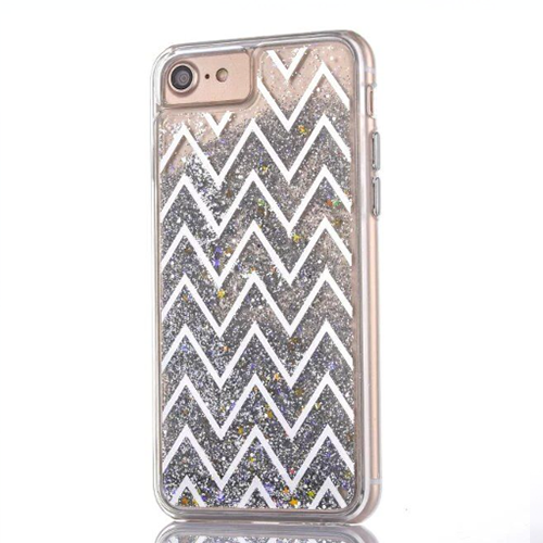 Geometric Silver iPhone Case - Her Teen Dream