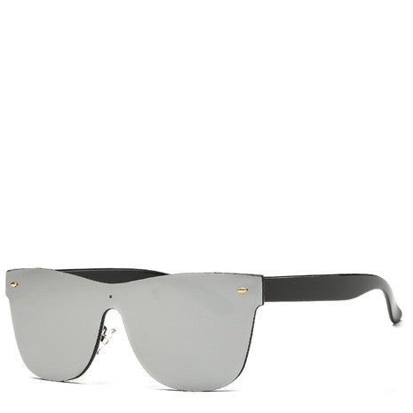 Aya Silver Rimless Sunglasses - Her Teen Dream