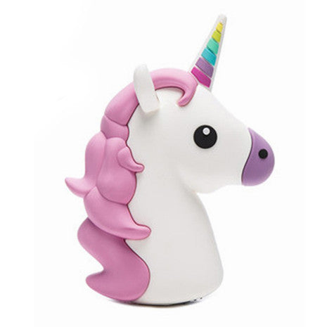 Rainbow Unicorn Portable Charger - Her Teen Dream