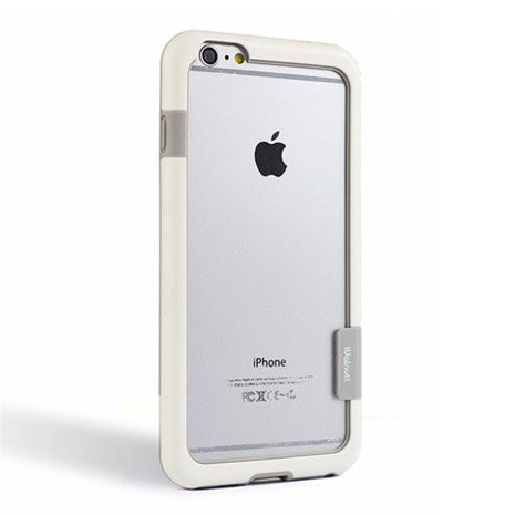 Walnutt White Bumper iPhone 6/6s - Her Teen Dream