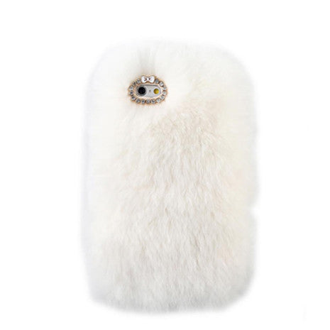 Furry White iPhone Case - Her Teen Dream