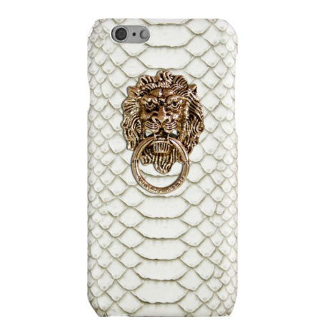 Lion White Door Knob Case - Her Teen Dream