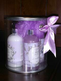 Purely Panache Lavender Bath Treats-Purple