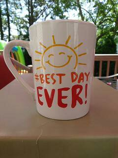 """Best Day Ever!"" - Gift Wrapped Mug"