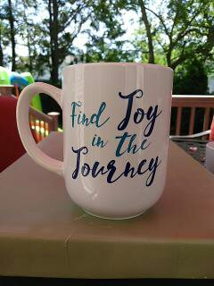 """Find Joy In the Journey"" - Gift Wrapped Mug"