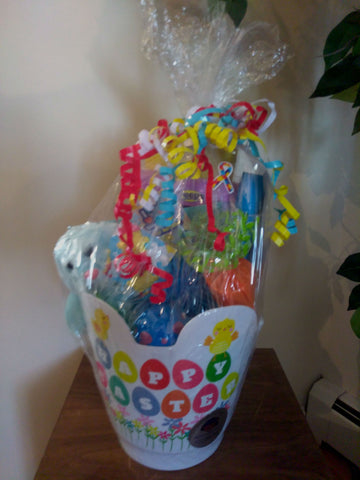 Perfectly Special - Gluten Free/Dairy Free Happy Easter Kids Bucket - White
