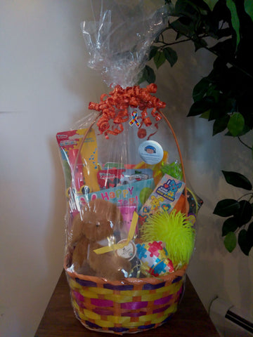 Perfectly Special - Gluten Free/Dairy Free Kids Easter Basket - Orange