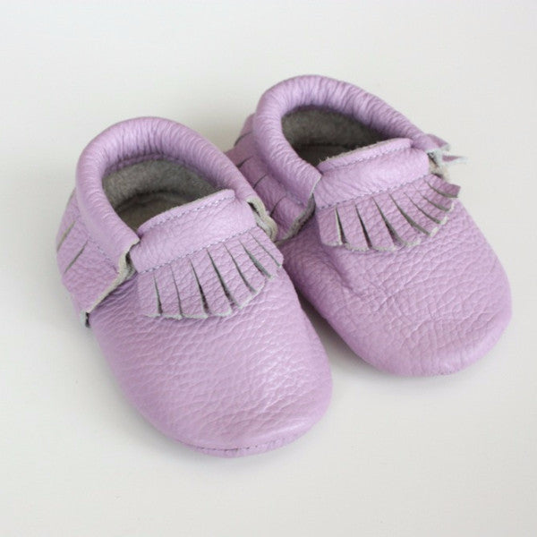 Lilac Moccasins