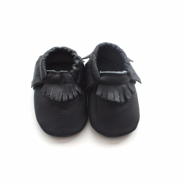 Black Night Moccasins