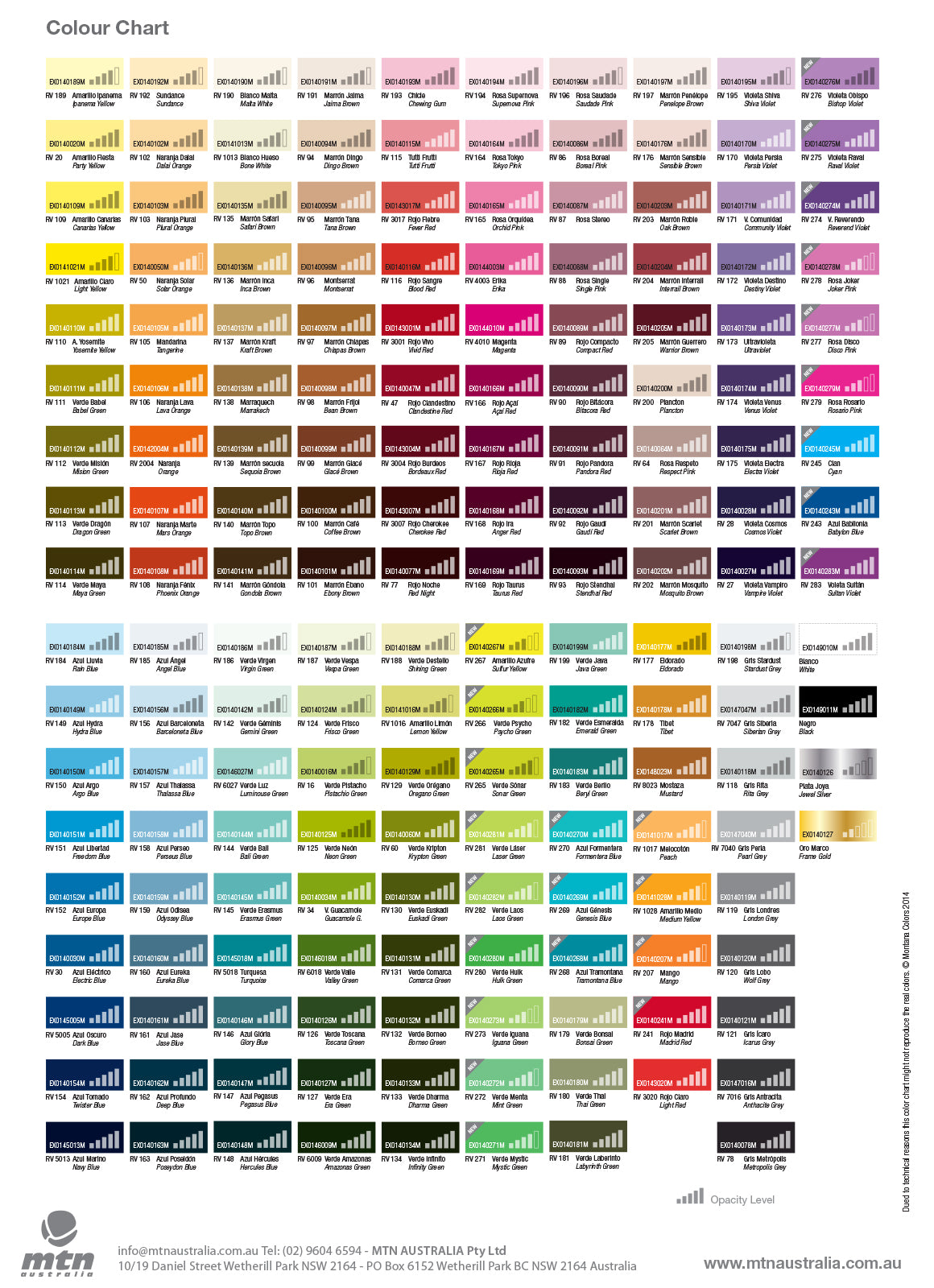 25 New Colours 2