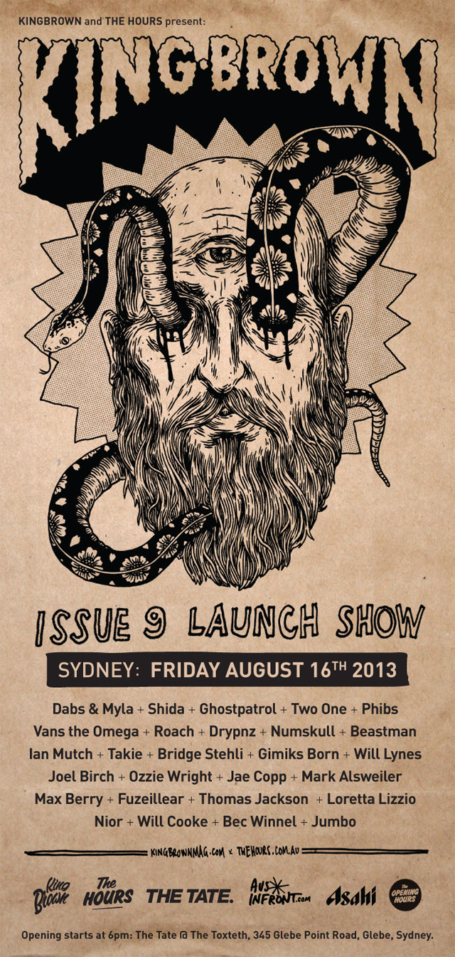 kingbrown-issue9-launch-sydney-640