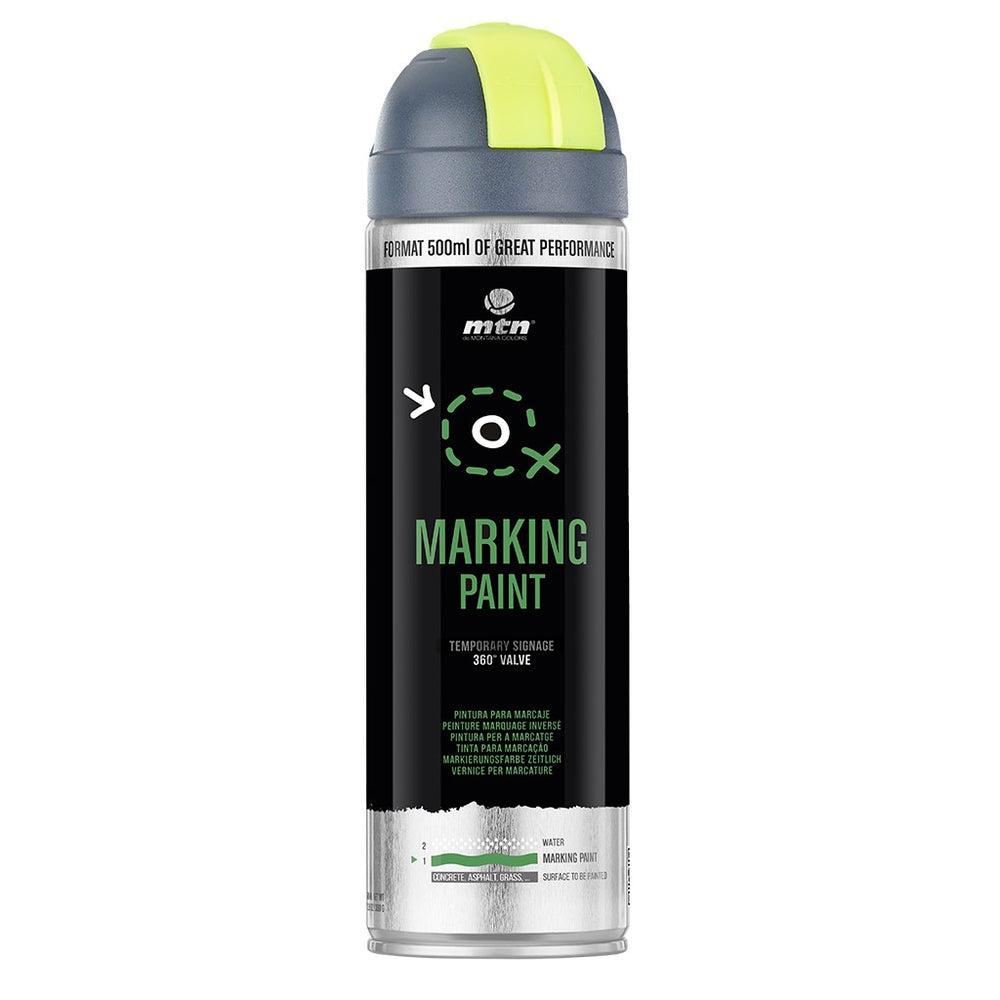 MTN PRO Spray Paint - Marking Paint 500ml - Yellow