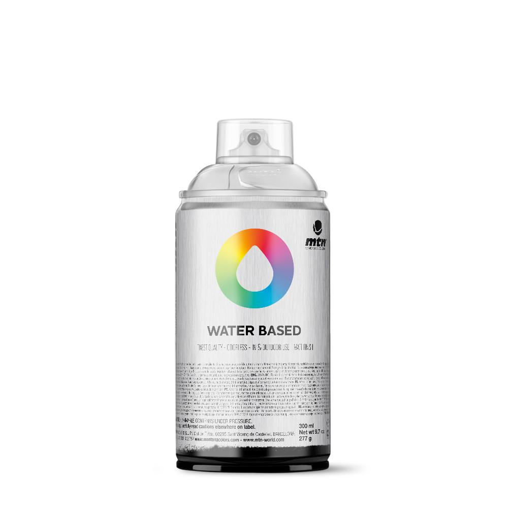 MTN Water Based 300ml Spray Paint - WRV - Transparent White