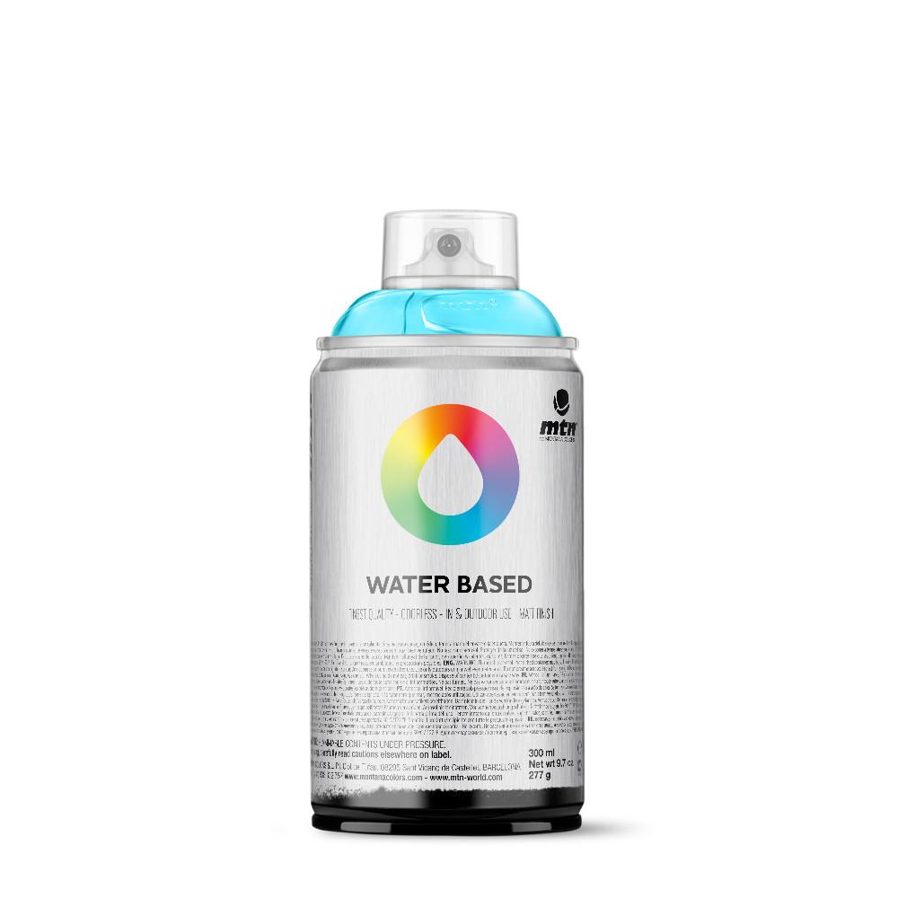 MTN Water Based 300ml Spray Paint - RV29 - Phthalo Blue Light