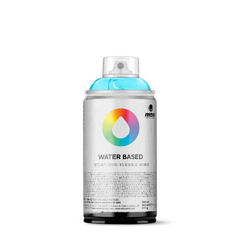 MTN Water Based 300 Spray Paint - RV29 - Phthalo Blue Light
