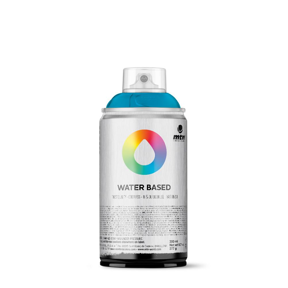 MTN Water Based 300ml Spray Paint - WRV217 - Cerulean Blue