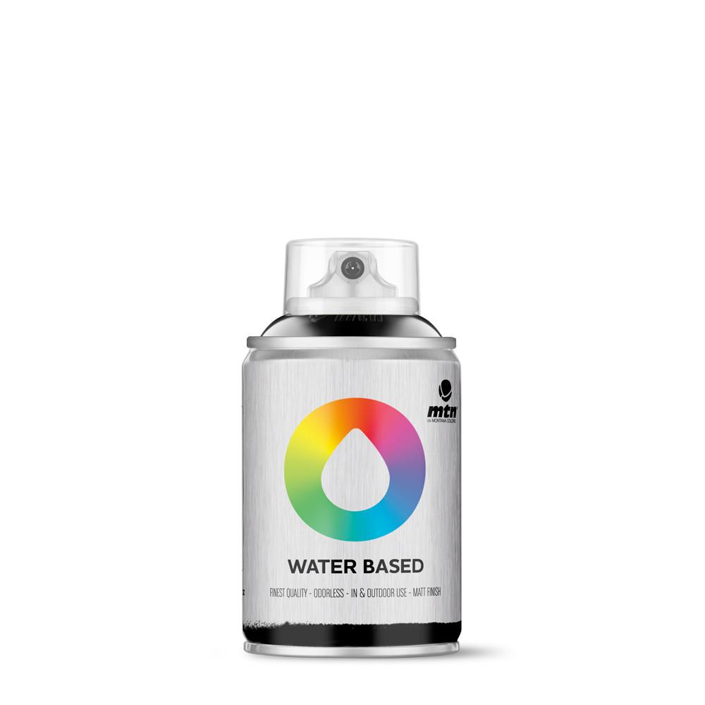 MTN Water based 100ml Spray paint - W1RV9011 - Carbon Black