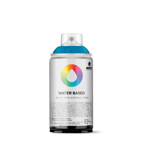 MTN Water Based 300 Spray Paint - RV69 - Cobalt Blue Light