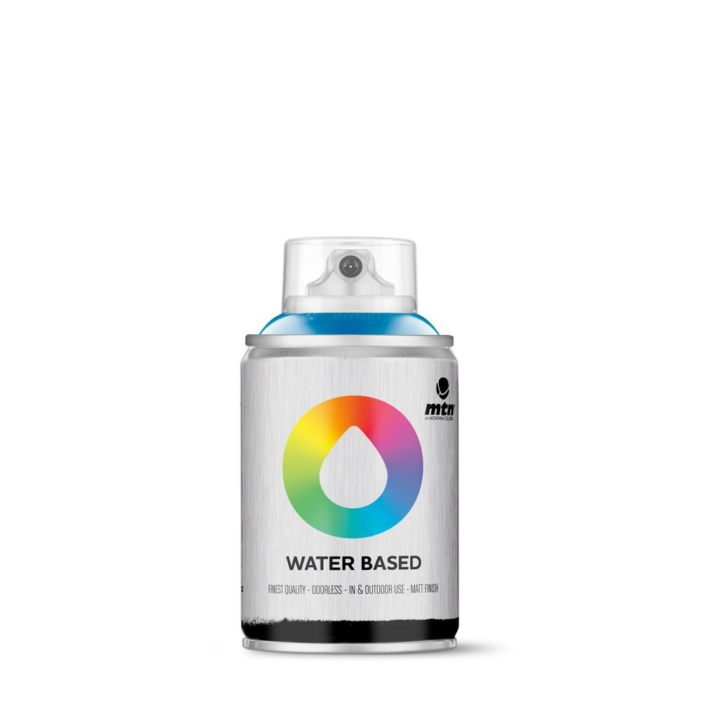 MTN Water based 100ml Spray paint - W1RV30 - Prussian Blue