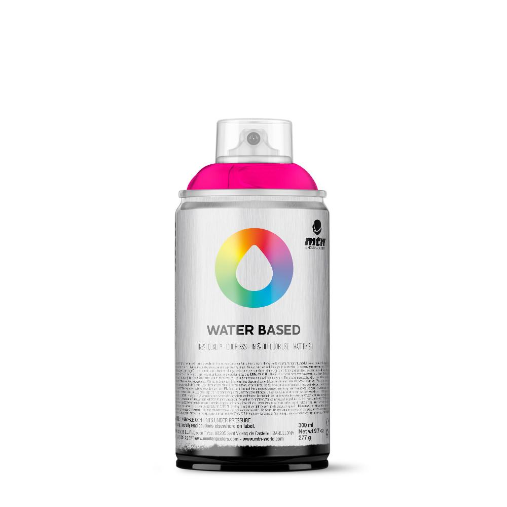 MTN Water Based 300ml Spray Paint - WRV - Fluorescent Fuchsia