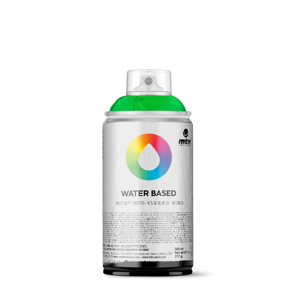 MTN Water Based 300ml Spray Paint - WRV - Fluorescent Green