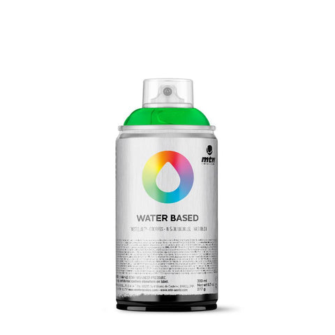 MTN Water Based 300 Spray Paint - WRV - Fluorescent Green
