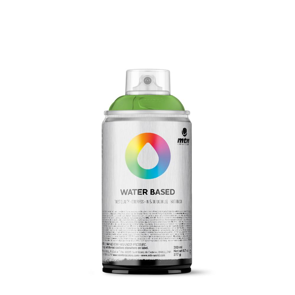MTN Water Based 300ml Spray Paint - RV34 - Brilliant Light Green