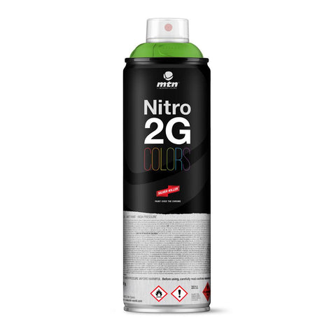 MTN 2G Colors Spray Paint - RV34 Guacamole Green