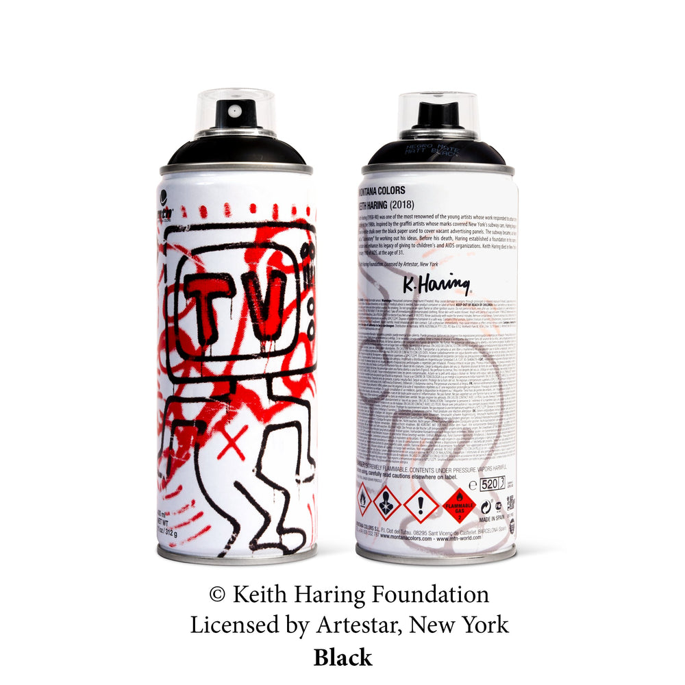 MTN Limited Edition Keith Haring - Black