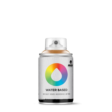 MTN Water Based 100 Spray Paint - 100ml - W1RV265 - Raw Sienna