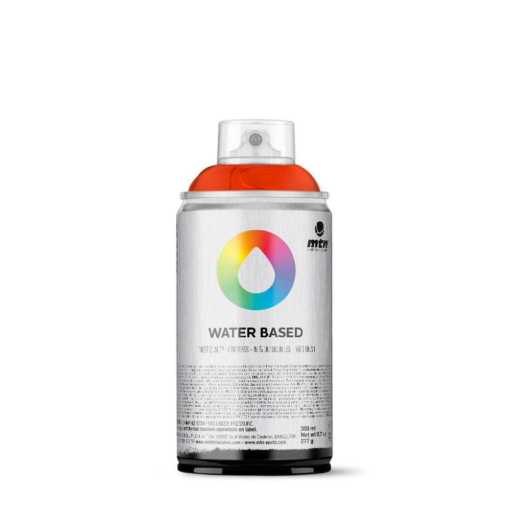 MTN Water Based 300ml Spray Paint - RV3020 - Naphthol Red
