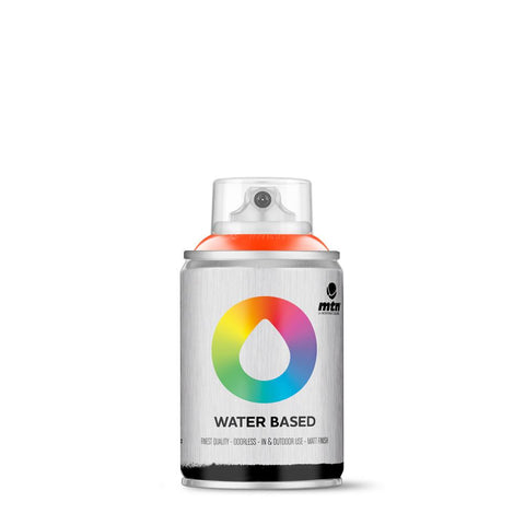 MTN Water Based 100 Spray Paint - 100ml - W1RV3020 - Naphthol Red