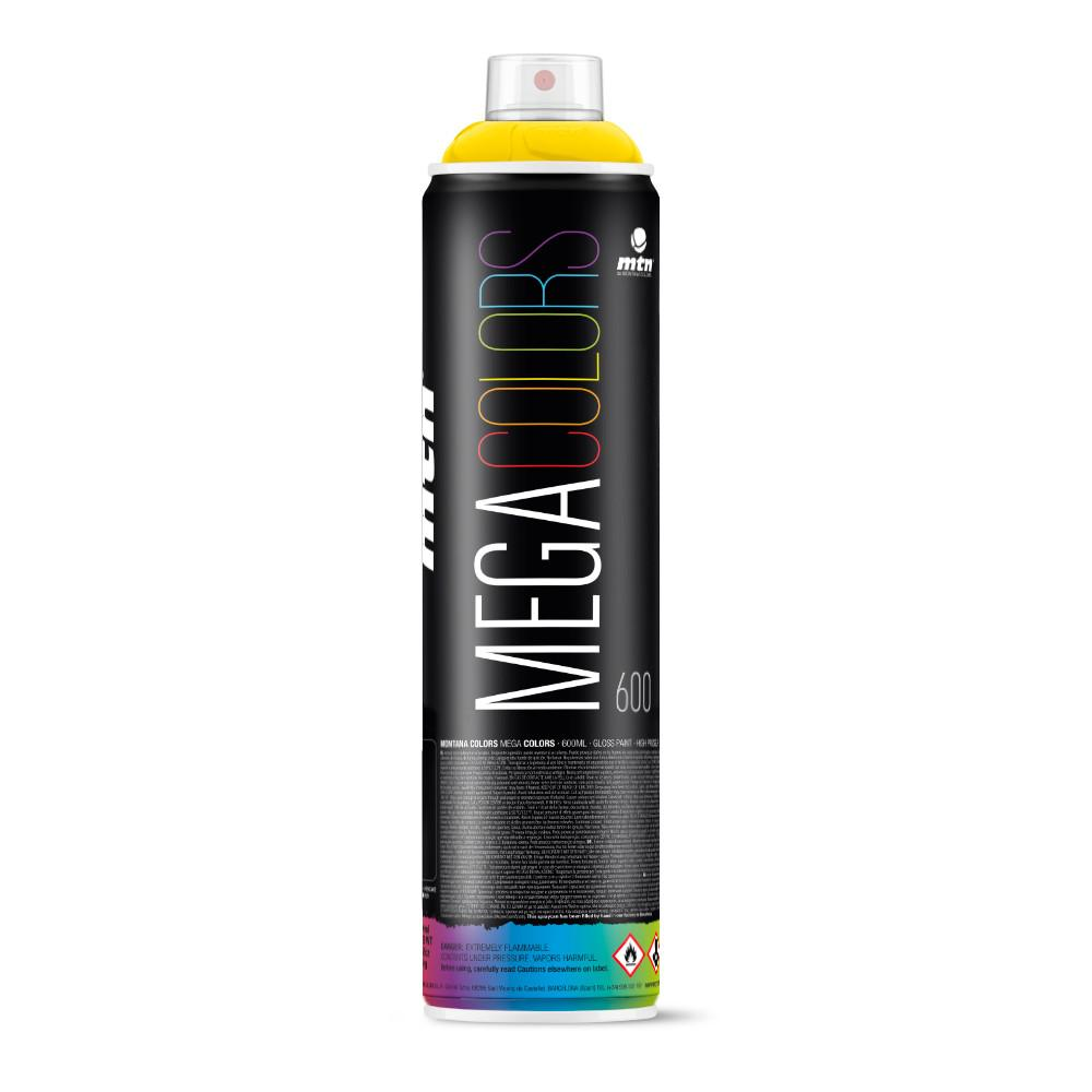 MTN Mega Spray Paint - 600ml - RV1021 - Light Yellow