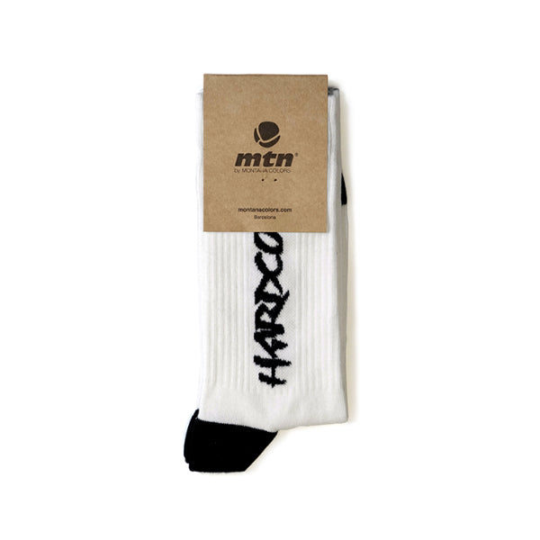 MTN Socks Hardcore White