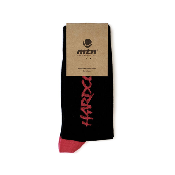MTN Socks Hardcore Black