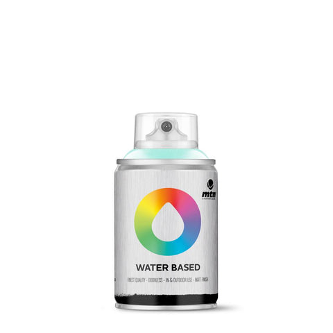 MTN Water Based 100 Spray Paint - 100ml - W1RV29 - Phthalo Blue Light