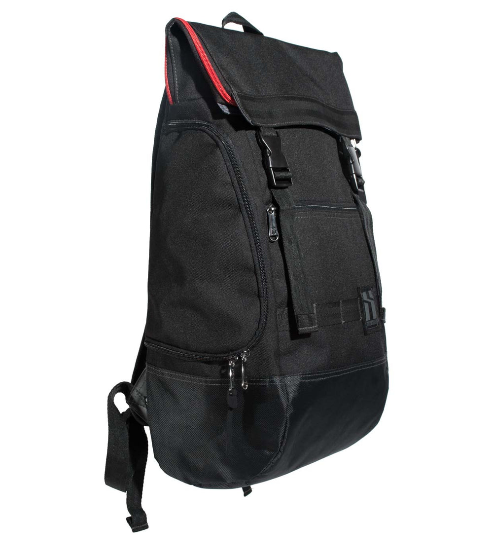 Mr Serious - Wanderer Backpack - Black
