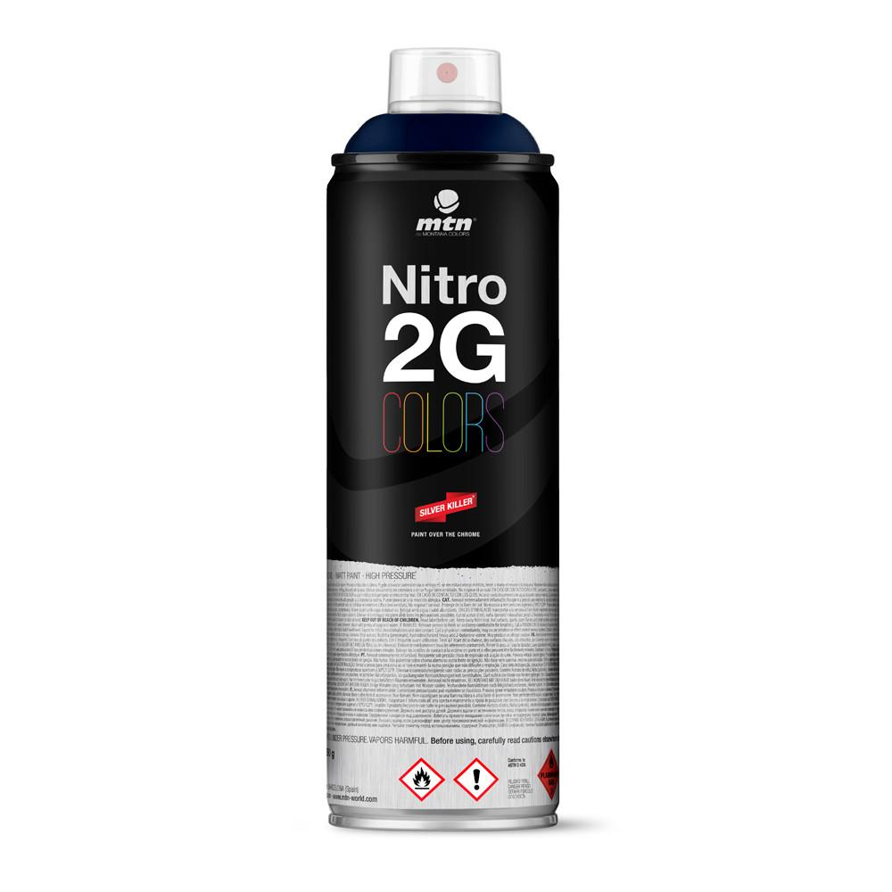 Nitro 2G Colors 500ml - Marine Blue