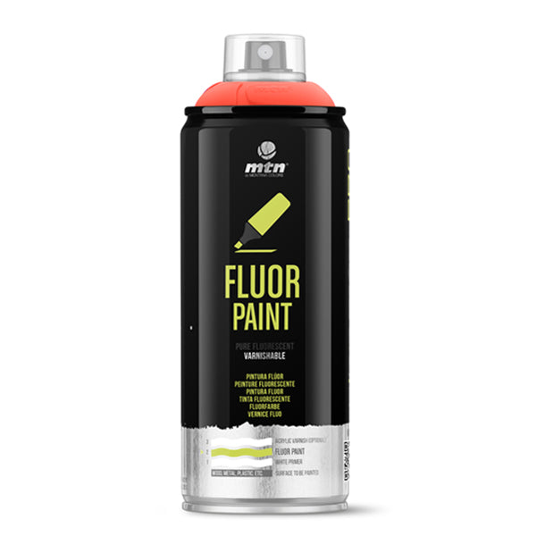MTN PRO Spray Paint - Fluor Red 400ml