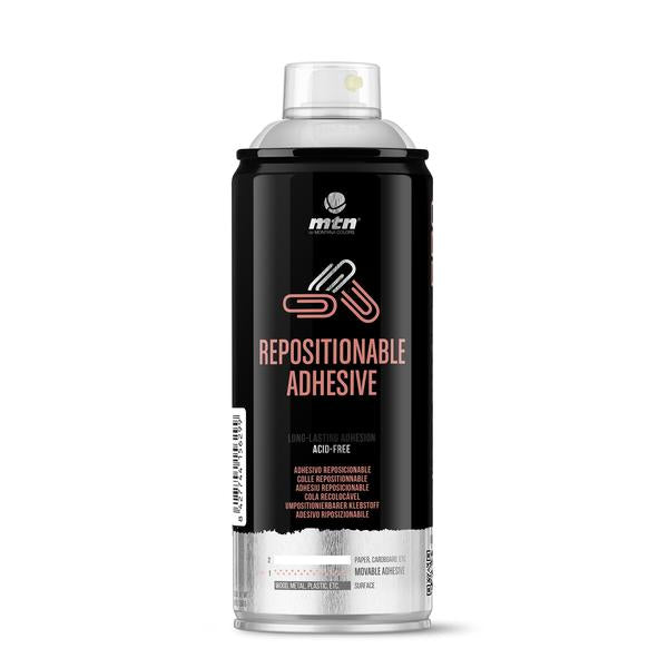 MTN PRO Spray Paint - Re-positionable Adhesive 400ml