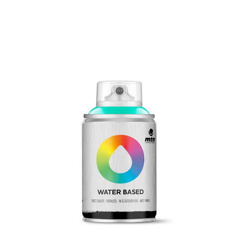 MTN Water Based 100 Spray Paint - 100ml - W1RV219 - Turquoise Green