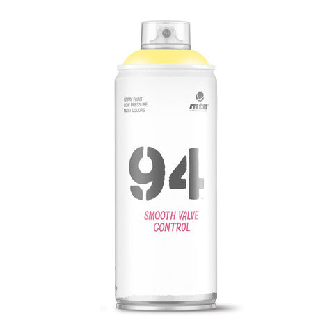 MTN 94 Spray Paint - RV20 - Party Yellow