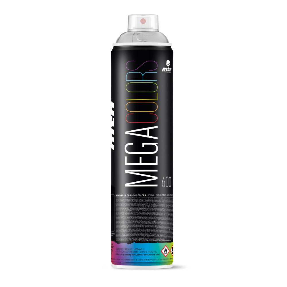 MTN Mega Spray Paint - 600ml - Silver Chrome