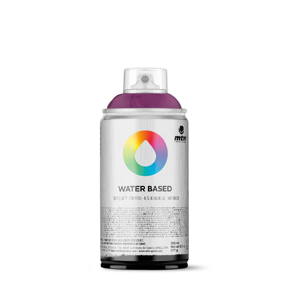 MTN Water Based 300ml Spray Paint - WRV167 - Blue Violet Deep