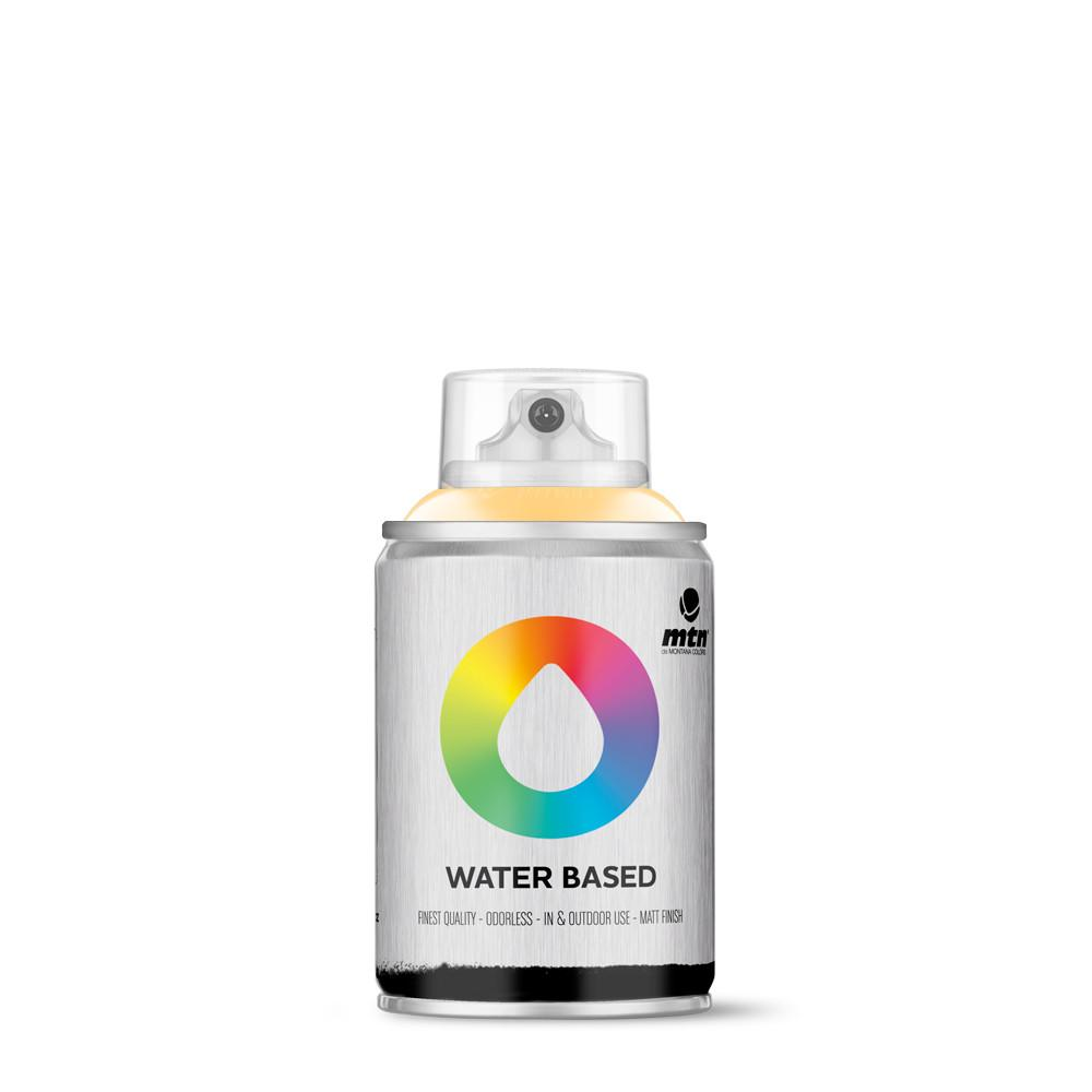 MTN Water based 100ml Spray paint - W1RV135 - Naples Yellow