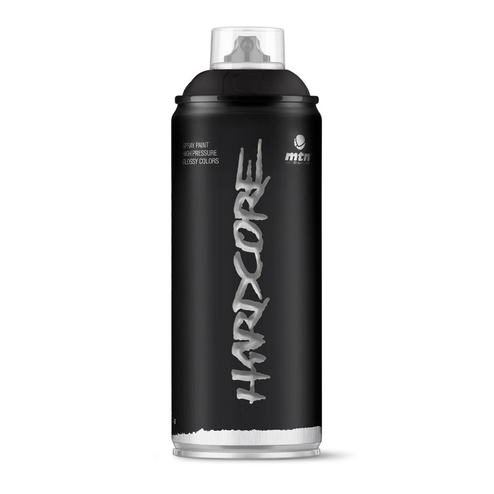 MTN Hardcore Spray Paint - Satin Black