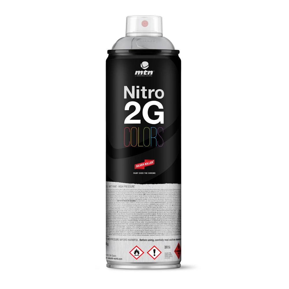 Nitro 2G Colors 500ml - Silver Chrome