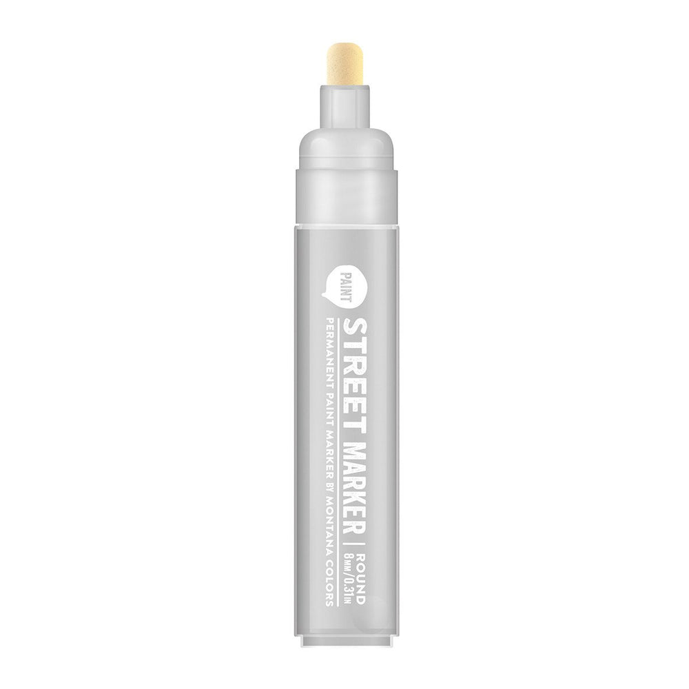 Street Paint Marker - 8mm Metallic Silver
