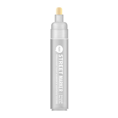 MTN Streeet Paint Marker - 8mm Metallic Silver